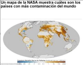Mapa de la Nasa