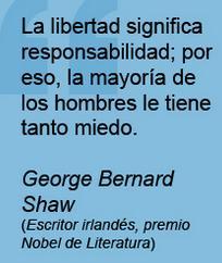 libertad significa responsabilidad