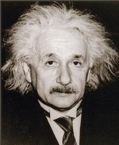 Rostro de Einstein