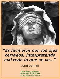 Ojos cerrados John Lennon