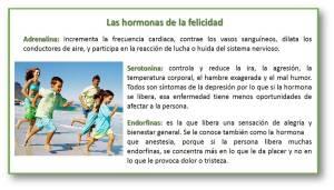Hormonas de la felicidad