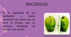 Sinceridad