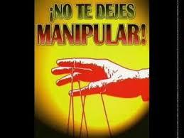 No a la manipulacón
