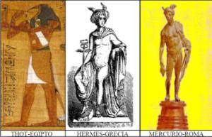 thot, hermes, mercurio