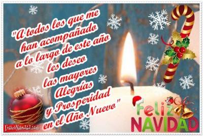 Mis deseos navide os arbol de la sabiduria - La mejor tarjeta de navidad ...