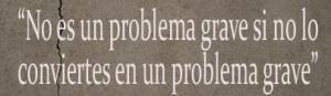 No es un problema