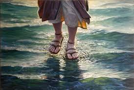 Jesus caminando